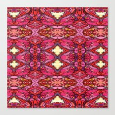 Funky Reds Canvas Print