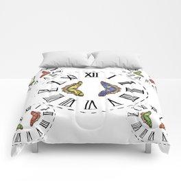 My Fluttery Clock 2 Comforters