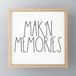 Mak'n Memories Framed Mini Art Print