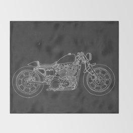 Thunder Bike Throw Blanket