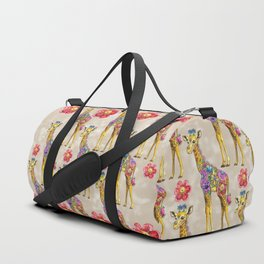 Sweet Giraffe Duffle Bag