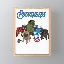 pugvenger Framed Mini Art Print