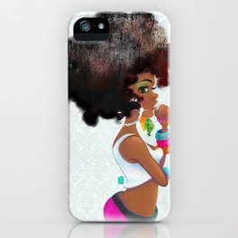 Baby Girl iPhone Case
