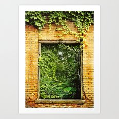 Nature Reclaims Art Print