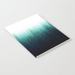 Teal Ombré Notebook