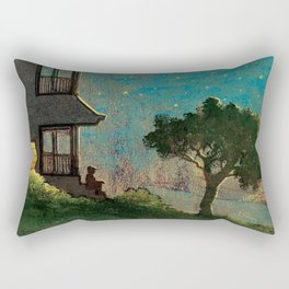 The Story of E.B. White Rectangular Pillow