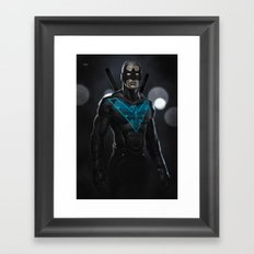 Nightwing 02 Framed Art Print