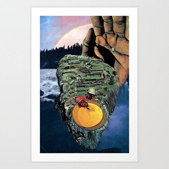 anga Art Print