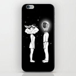 Day Dreamer Meets Night Thinker iPhone Skin