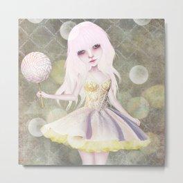 Sugarplum Fairy Metal Print