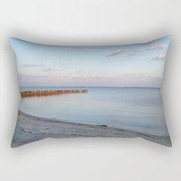 Pastel Beach Rectangular Pillow