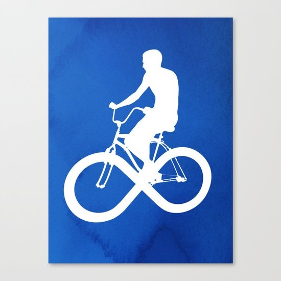 Endless Cycle Canvas Print
