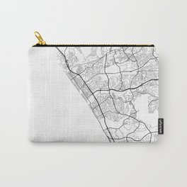 Minimal City Maps - Map Of Oceanside, California, United States Carry-All Pouch