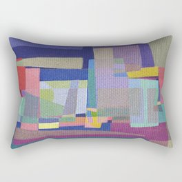 Olympic Village Rectangular Pillow