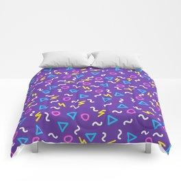 Retro Wave 1 Comforters