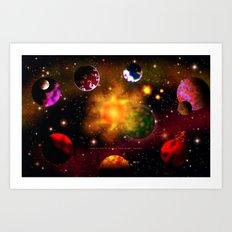 SPACE 122513 – 078 Art Print