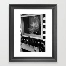 Pinwheels in the Window Framed Art Print