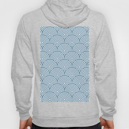 Scales - Blue & White #453 Hoody