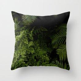 Tropical jungle. Throw Pillow