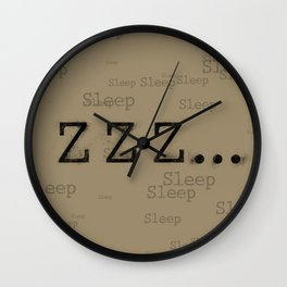 ZZZ... Sleep Wall Clock