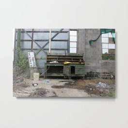The Bench Metal Print