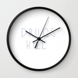 Drugs Wall Clock