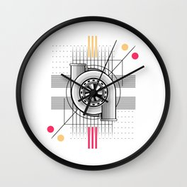 Turbo engine Wall Clock