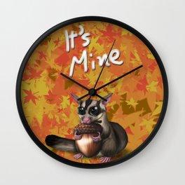 """""""It's Mine"""" Wall Clock"""