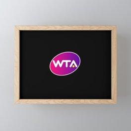 wta Framed Mini Art Print