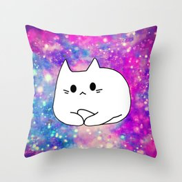 cat 607 Throw Pillow