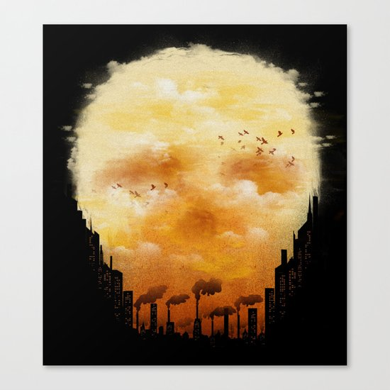 Polluted Promises Canvas Print