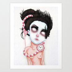 Endlessly Waiting  Art Print