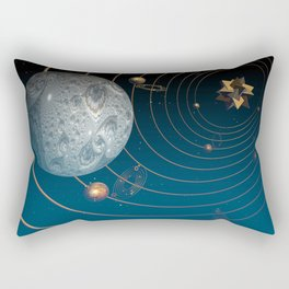 Fractal Universe Rectangular Pillow