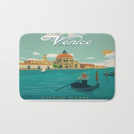 Vintage poster - Venice Bath Mat