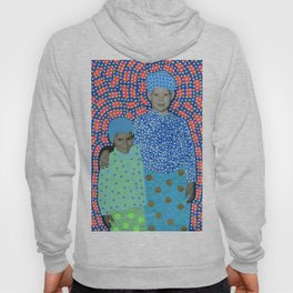 Blue Minty Friendship Hoody