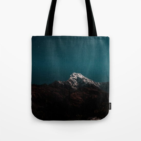 Dark Mountains #society6 #buyart Tote Bag