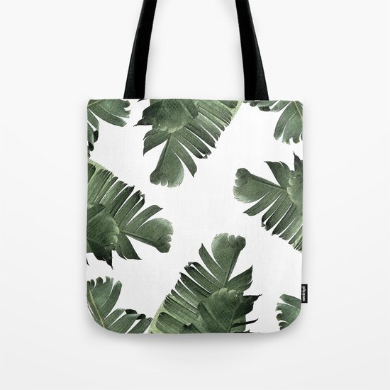 Banana Leaf Frenzy #society6 Tote Bag