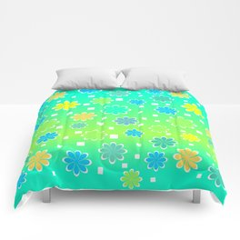 Joyful summer Comforters