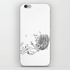 Noyade iPhone & iPod Skin