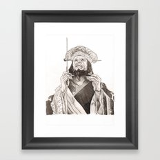 Lo Pan Framed Art Print