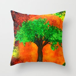 THE FOREVER TREE Throw Pillow