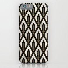 Art Deco Marble Pattern iPhone 6 Slim Case