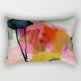 paysage abstract Rectangular Pillow