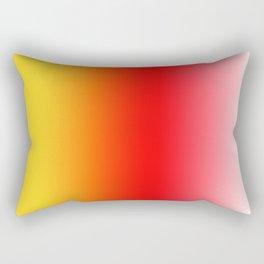 Ombre Sunset Rectangular Pillow