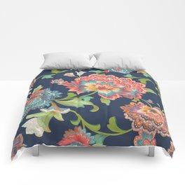 Chintz (blue) Comforters