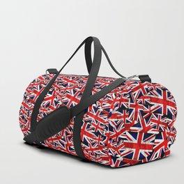 Union Jack British England UK Flag Duffle Bag