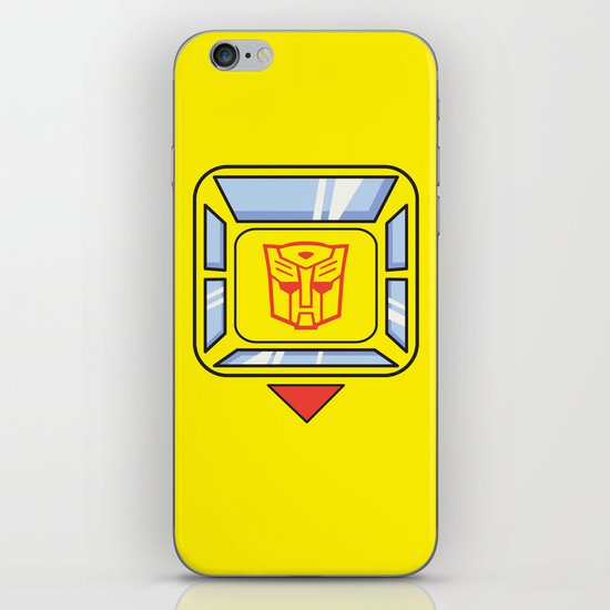 Transformers - Bumblebee iPhone & iPod Skin