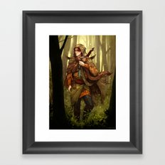 Kvothe Framed Art Print