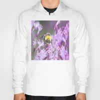 bee and puppycat Hoodies featuring Bee by Dora Birgis