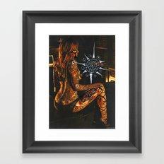 Psychoactive Bear 3 Framed Art Print